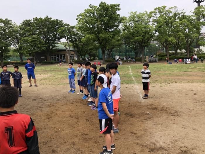 6年生 練習試合(vs関谷SC、南戸塚SC)_a0109316_09424118.jpeg