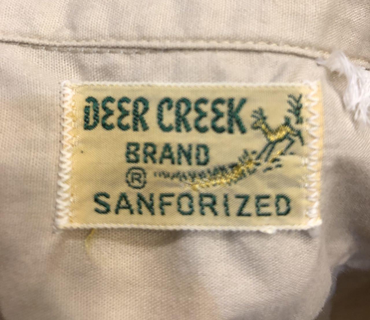 6月6日(木)入荷!One Wash ! 50s Deercreek all cotton オープンカラー ボックスシャツ!_c0144020_12594763.jpg