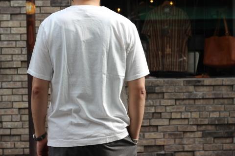 "「Jackman」変則Tシャツ \""Henleyneck T-shirt\"" ご紹介_f0191324_07282352.jpg"