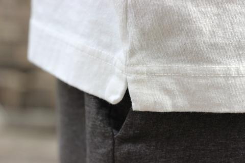 "「Jackman」変則Tシャツ \""Henleyneck T-shirt\"" ご紹介_f0191324_07284965.jpg"