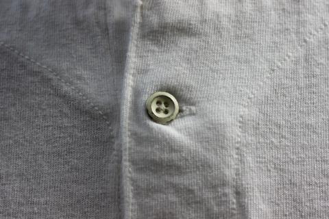 "「Jackman」変則Tシャツ \""Henleyneck T-shirt\"" ご紹介_f0191324_07285806.jpg"