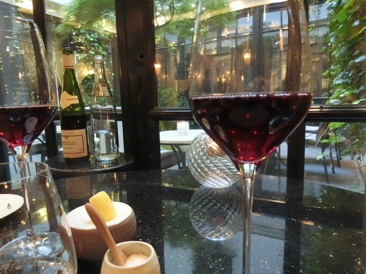 ディナーはホテル内のレストランで 💓 Le Baudelaire_e0303431_18112771.jpg