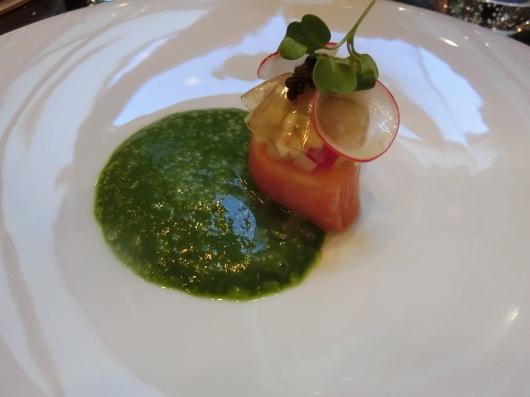 ディナーはホテル内のレストランで 💓 Le Baudelaire_e0303431_18140051.jpg