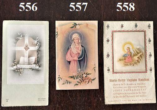 ホーリーカード(聖人のカード、エスタンパ)_f0112550_06582516.jpg