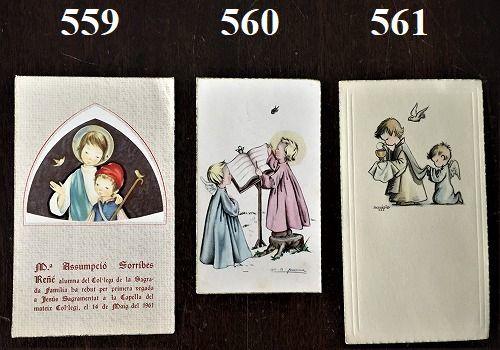 ホーリーカード(聖人のカード、エスタンパ)_f0112550_06582523.jpg