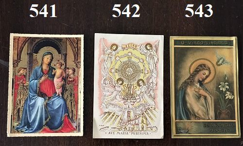 ホーリーカード(聖人のカード、エスタンパ)_f0112550_06582568.jpg