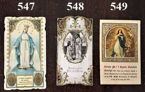 ホーリーカード(聖人のカード、エスタンパ)_f0112550_06582696.jpg