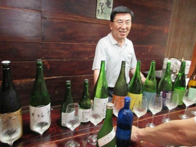 高知県酒審会の蔵見学_f0006356_16570377.jpg