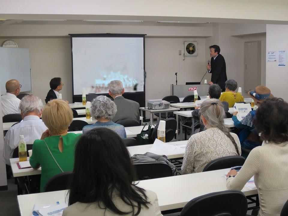 著作権等管理事業者主催の著作権研究会が飯田橋で開催された_e0091580_15585206.jpg