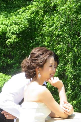 おでこの可愛い花嫁さん_b0209691_14594091.jpg