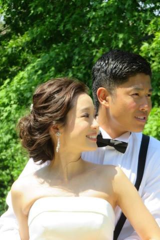 おでこの可愛い花嫁さん_b0209691_14594097.jpg