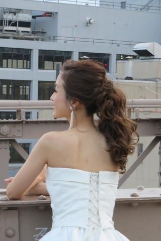 おでこの可愛い花嫁さん_b0209691_15022890.jpg