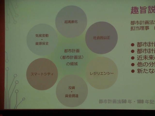 木をふんだんに使った東京大学農学部弥生講堂での「都市計画法50年・100年記念シンポジウム」_f0141310_08000684.jpg