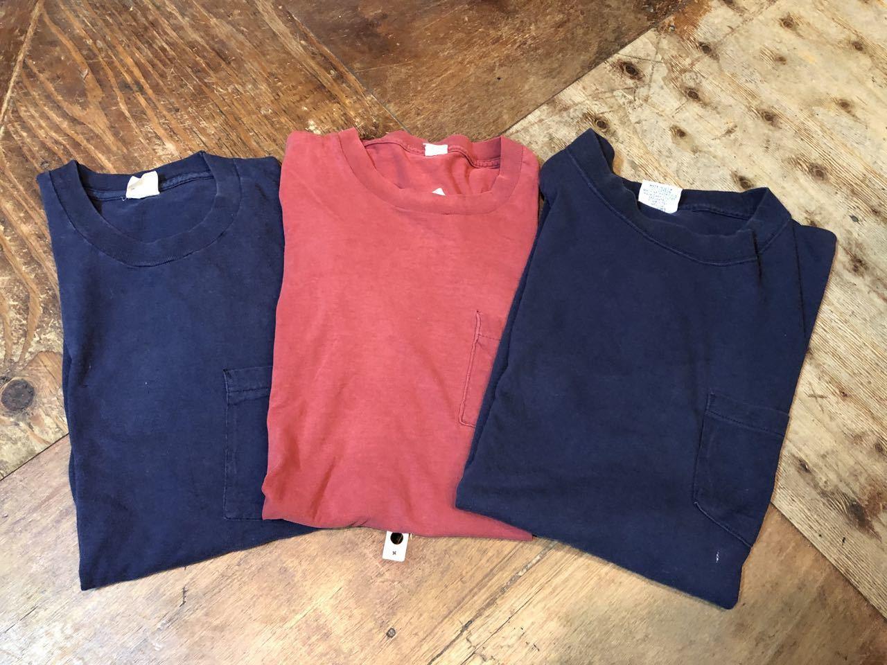 6月8日(土)入荷!USED MADE IN U.S.A POCKET T-shirts!_c0144020_13580907.jpg