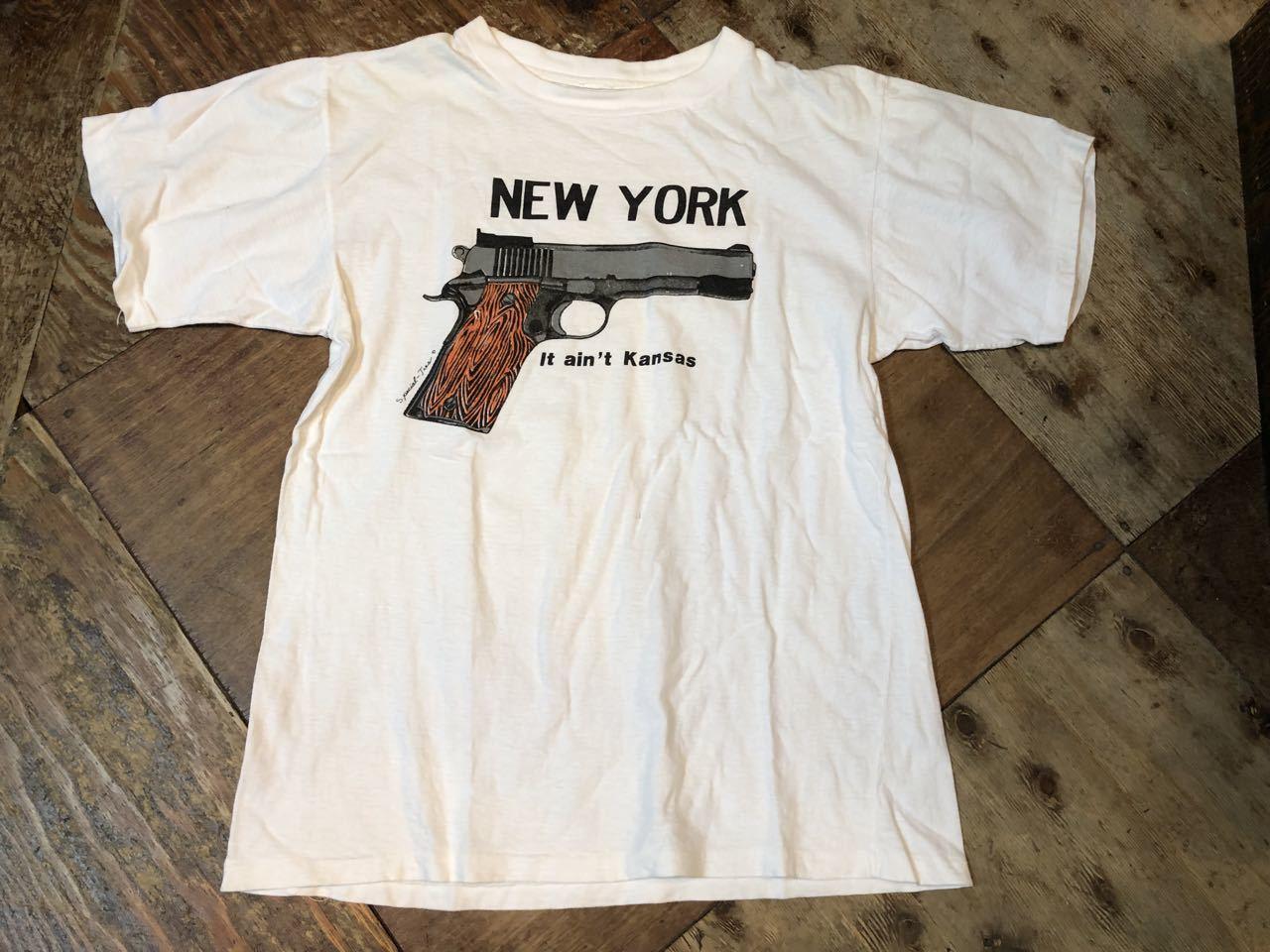 6月8日(土)入荷!80s〜NEW YORK GUN Tシャツ! _c0144020_14020739.jpg