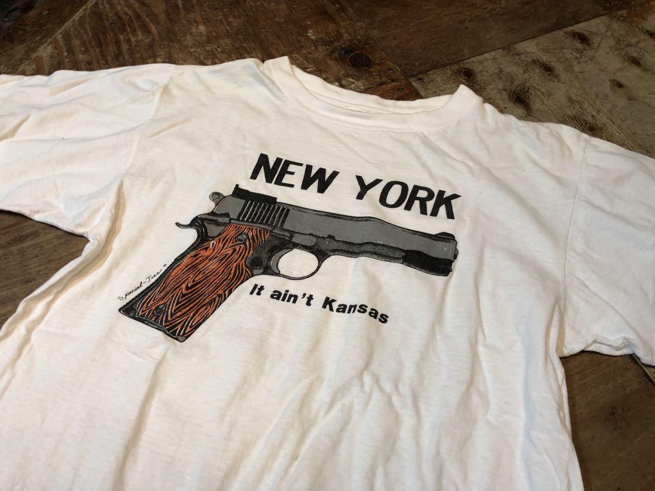 6月8日(土)入荷!80s〜NEW YORK GUN Tシャツ! _c0144020_14020994.jpg