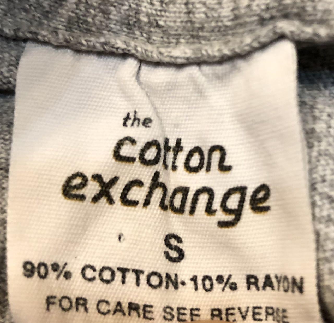 6月8日(土)入荷!80s made in U.S.A  Cotton Exchange 染み込み3段プリントTシャツ!_c0144020_14094476.jpg