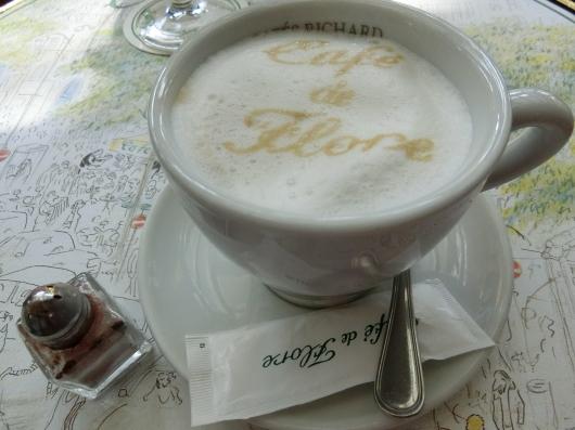Paris メーデー 💓 サンジェルマンデプレ~お茶 カフェ ド フロール_e0303431_19420579.jpg