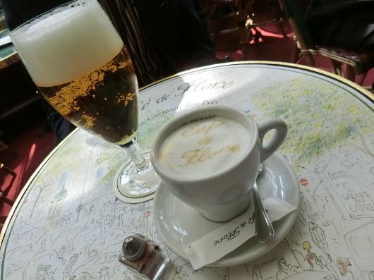 Paris メーデー 💓 サンジェルマンデプレ~お茶 カフェ ド フロール_e0303431_19435003.jpg