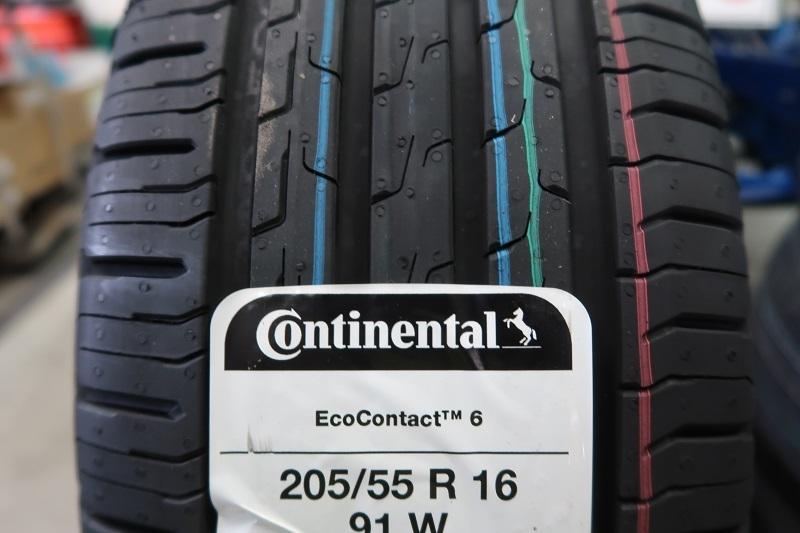 コンチネンタルタイヤの最新作「EC6」を「PC6」と比較接写_f0076731_21460659.jpg