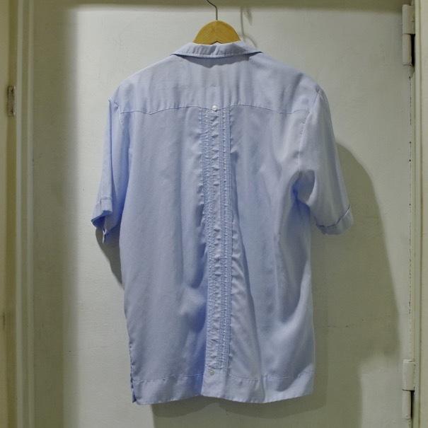 かなり濃い、リーバイス501 アメリカ製 & キューバシャツ_d0257333_22000094.jpg