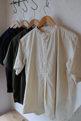 6/7 ブルガリアタイプ 50\'sグランパシャツ 半袖 入荷しました_f0325437_15474497.jpg