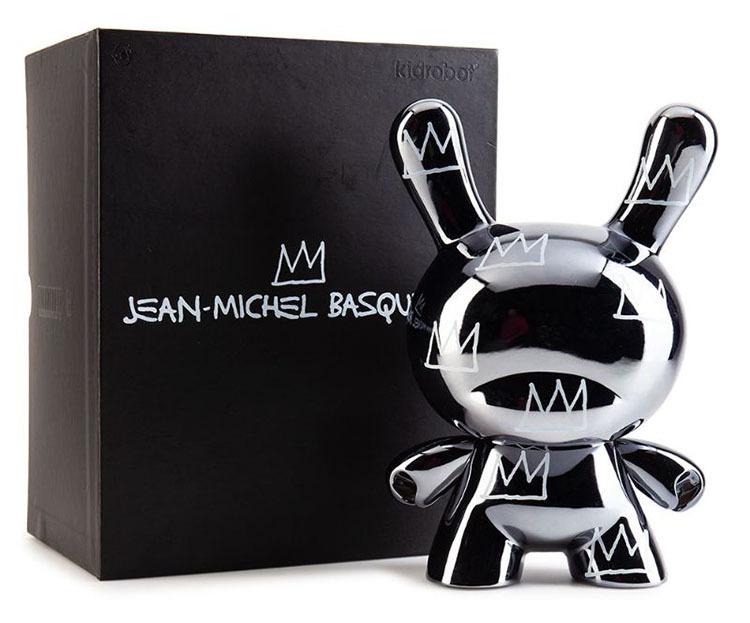 "Jean-Michel Basquiat 8\"" Masterpiece Dunny - Legacy_e0118156_11311054.jpg"