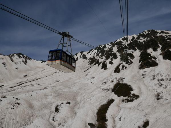 立山黒部アルペンルート ロープウェイで大観峰へ_a0351368_10550791.jpg