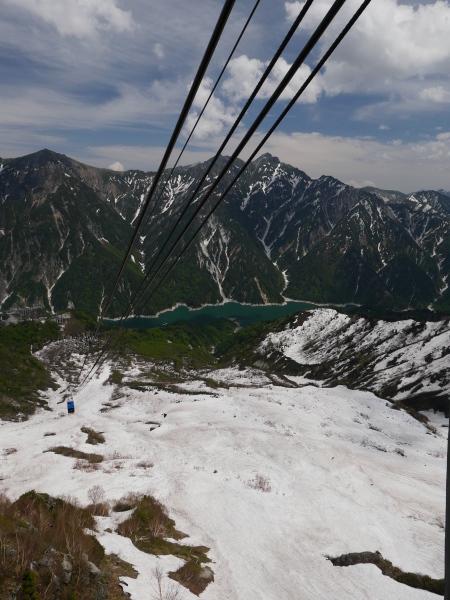 立山黒部アルペンルート ロープウェイで大観峰へ_a0351368_10552149.jpg