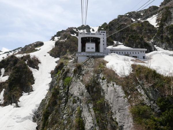 立山黒部アルペンルート ロープウェイで大観峰へ_a0351368_10555337.jpg