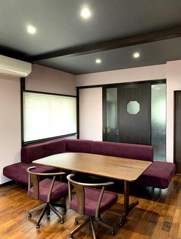 カリモク家具 こだわり納品実例~ソファでくつろぎのお食事時間を~_d0224984_15472454.jpg