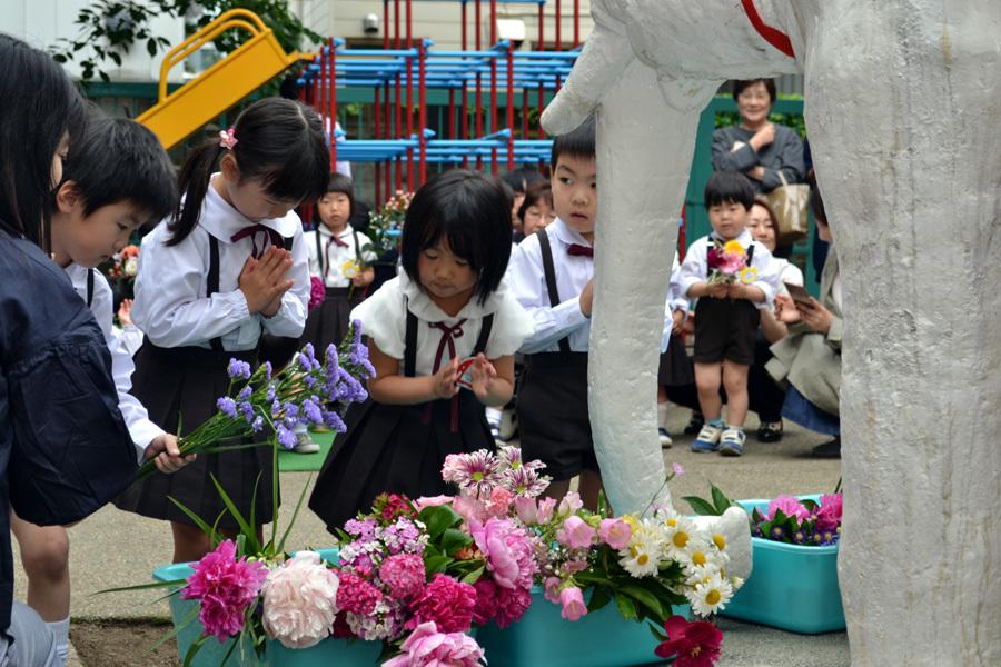 第一幼稚園「花まつり」_d0353789_14280790.jpg