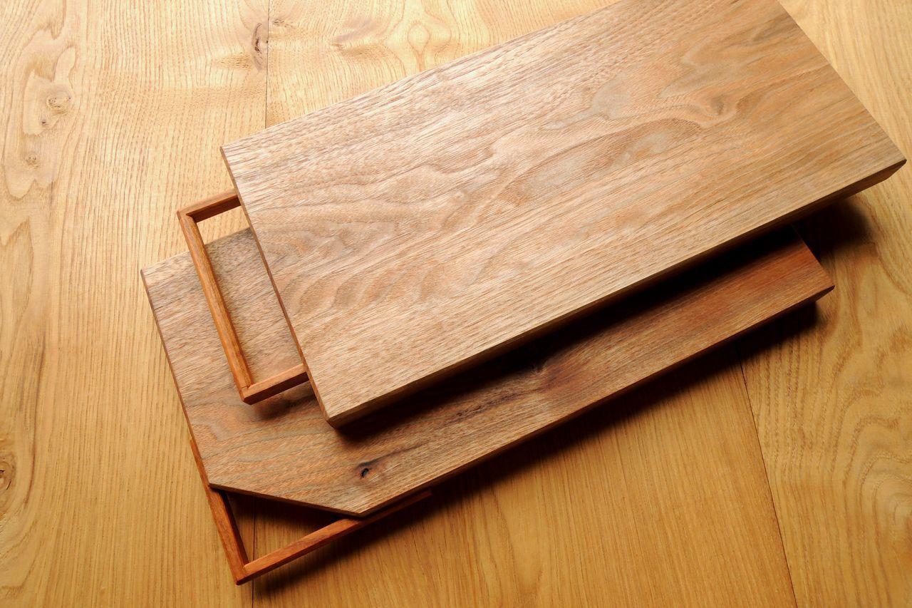 木工 藤原次朗の手仕事 「取っ手付きカッティングボード」_e0248405_20070124.jpg