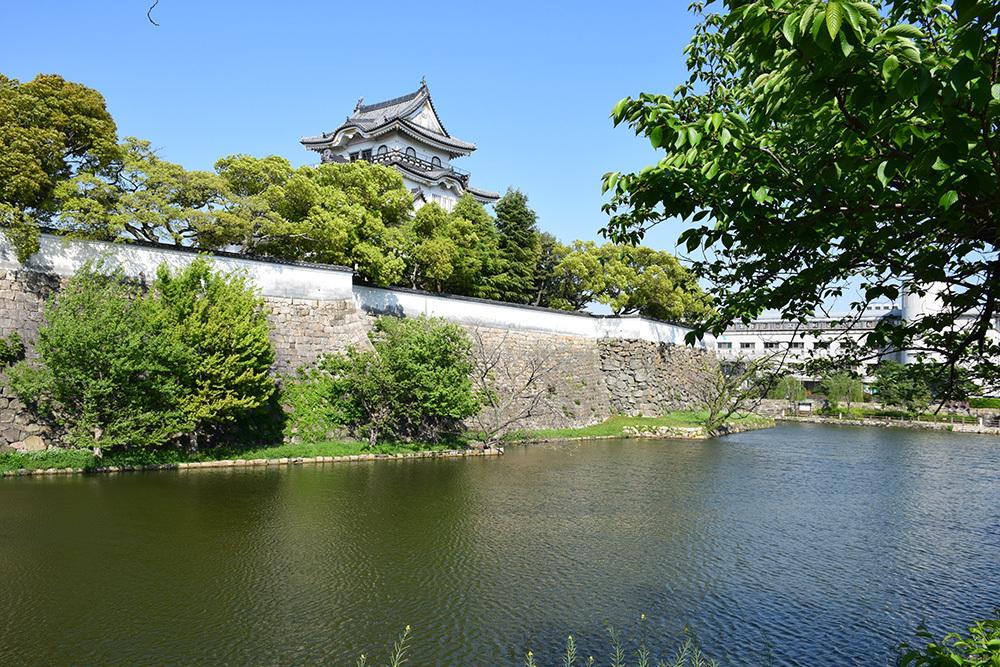 犬走りの代表的な城、岸和田城攻城記。 その1 ~内堀~_e0158128_12090100.jpg