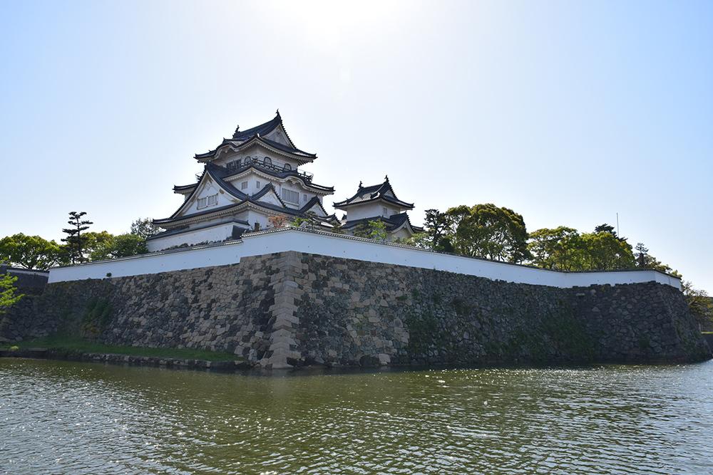 犬走りの代表的な城、岸和田城攻城記。 その1 ~内堀~_e0158128_12162036.jpg