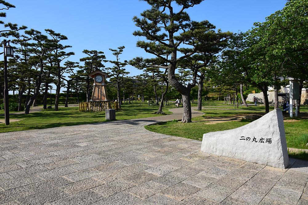 犬走りの代表的な城、岸和田城攻城記。 その3 ~二ノ丸~_e0158128_12490386.jpg