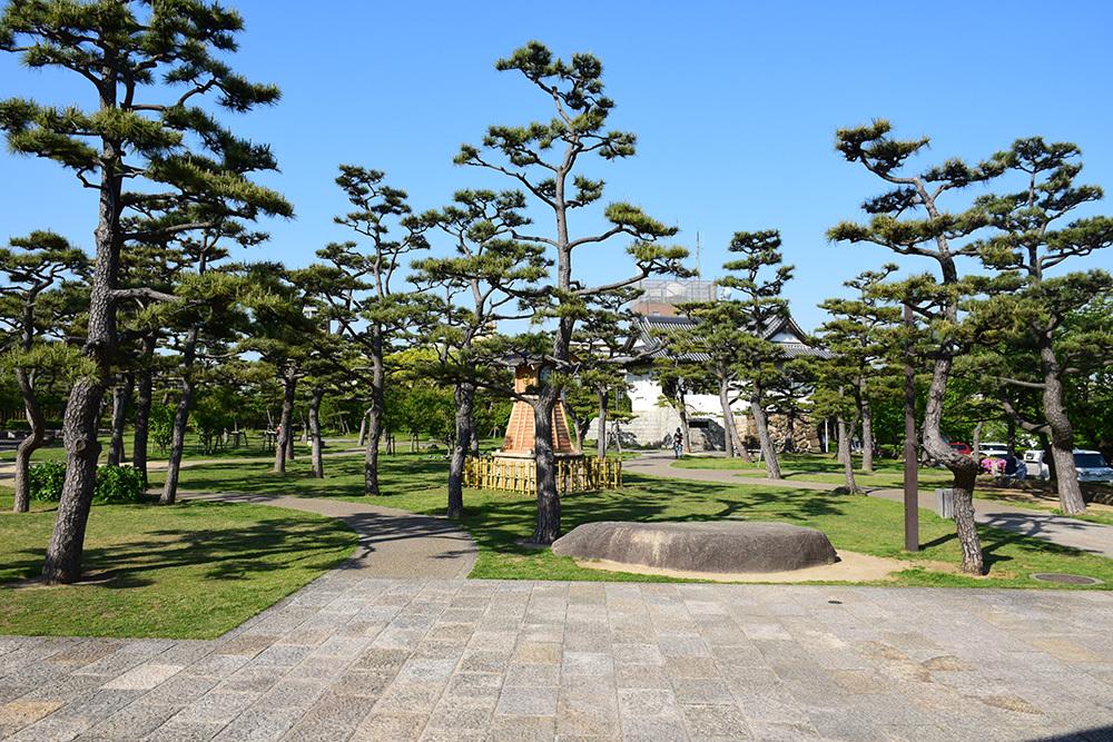 犬走りの代表的な城、岸和田城攻城記。 その3 ~二ノ丸~_e0158128_13034624.jpg