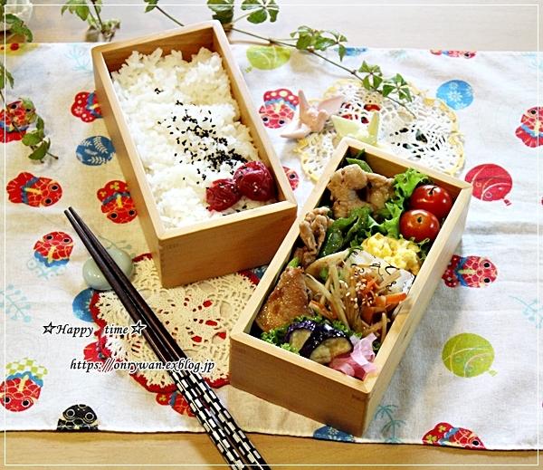 肉野菜炒め弁当と梅シゴト①♪_f0348032_17074168.jpg