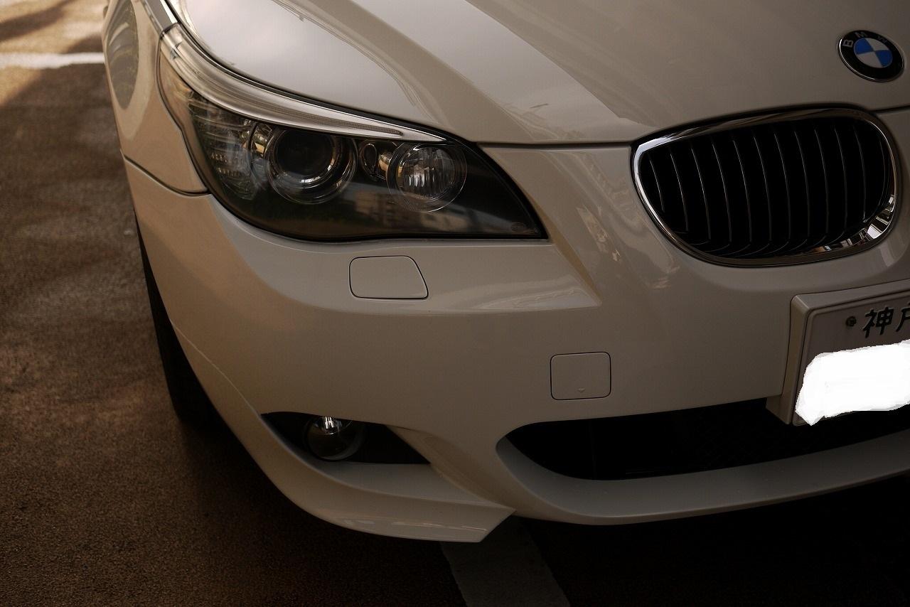 BMW E61 ツーリング エアサス エアポンプ リヤ下がる 上がらない_d0171835_09352145.jpg