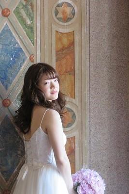 ふんわりほんわか花嫁さん _b0209691_15531341.jpg