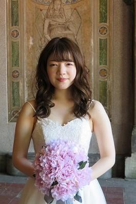 ふんわりほんわか花嫁さん _b0209691_15593346.jpg