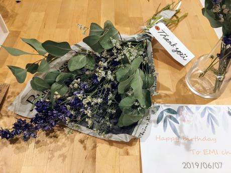 誕生日の花。_b0370192_19280576.jpg