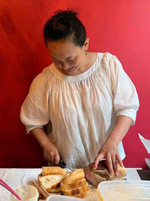 白金台 cookie girl  美味しいサンドウィッチとお菓子の「たべもの屋」_e0243332_10433351.jpg