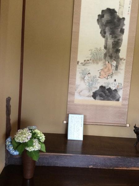 今はやまなか、紫陽花の季節「芭蕉の館」_f0289632_10113197.jpg