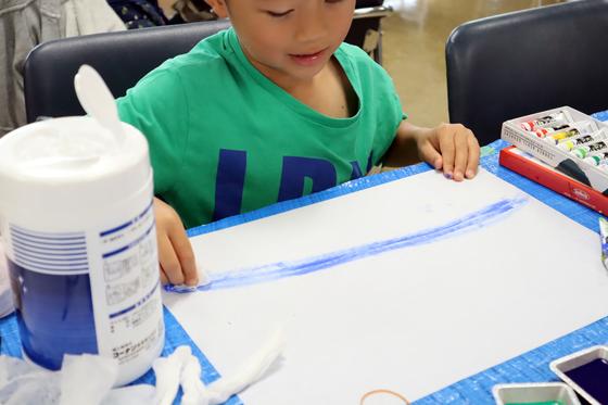 やと子ども美術教室 ~ 水を描く ~_e0222340_15121811.jpg