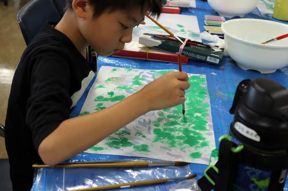 やと子ども美術教室 ~ 水を描く ~_e0222340_15152826.jpg