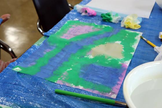 やと子ども美術教室 ~ 水を描く ~_e0222340_1517833.jpg