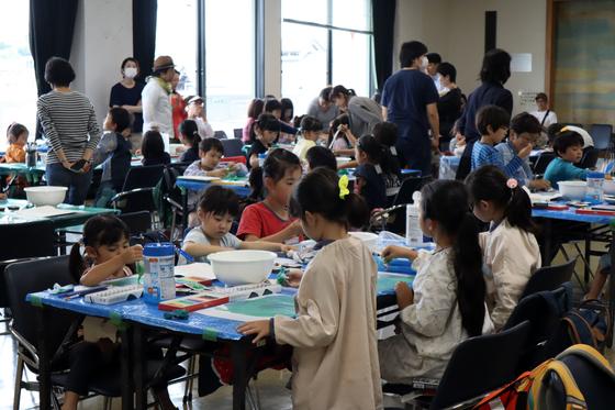やと子ども美術教室 ~ 水を描く ~_e0222340_15201133.jpg