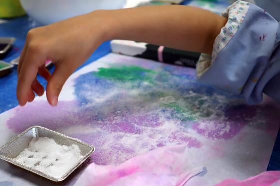 やと子ども美術教室 ~ 水を描く ~_e0222340_1522519.jpg