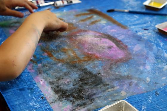 やと子ども美術教室 ~ 水を描く ~_e0222340_15235278.jpg